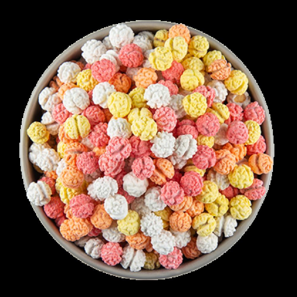 حلوى الحمص الملون